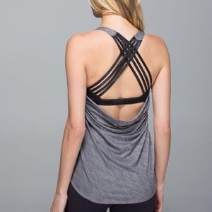 Lululemon Wild Tank - only worn once,did not sweat